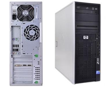 HP Z400 Workstation Intel Xeon W3550 3 07GHz 500GB HDD 8GB Memory